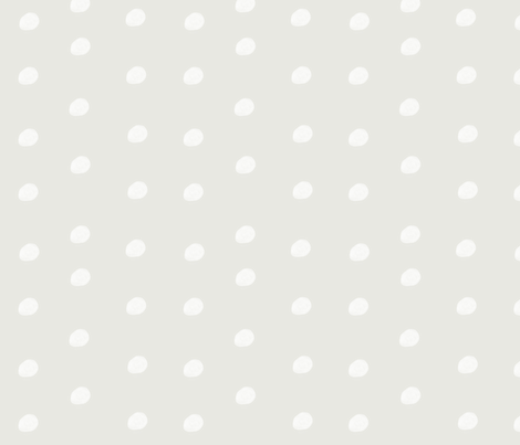 Gray Polka Dot  fabric by shastafeltman on Spoonflower - custom fabric