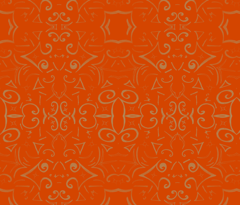 Autumn Whisps by Cindy Wilson fabric by cindywilsonart on Spoonflower - custom fabric