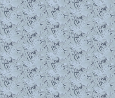 f12b_vintage_fern_cool fabric by benrob on Spoonflower - custom fabric