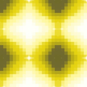 Pixelated Lemon Print