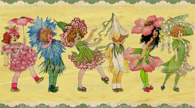 Victorian Flower Fairies