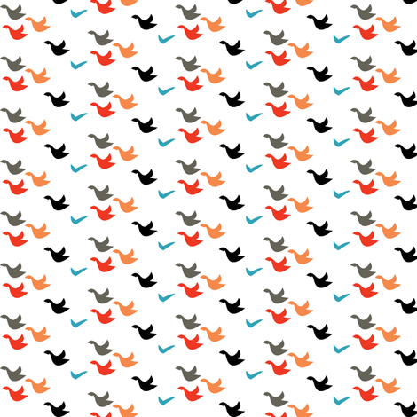 flock fabric by lilbirdfly on Spoonflower - custom fabric