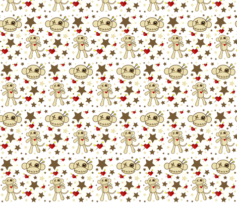 Pins n Needles fabric by staceyjean on Spoonflower - custom fabric