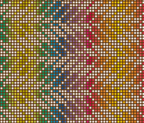 ZIGZAG_DOT_RAINBOW fabric by leitmotifs on Spoonflower - custom fabric