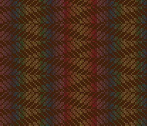 ZIGZAG_DOT_RAINBOW S fabric by leitmotifs on Spoonflower - custom fabric