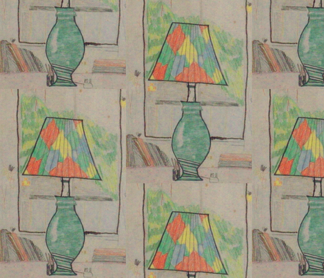 tablelamp fabric by rachana on Spoonflower - custom fabric