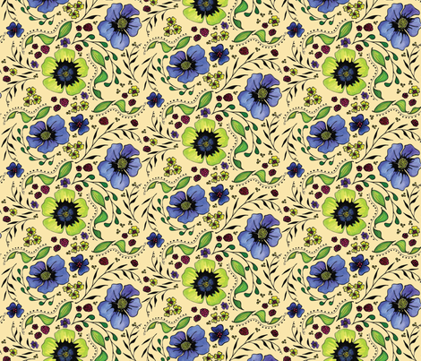April Truly fabric by kari_d on Spoonflower - custom fabric