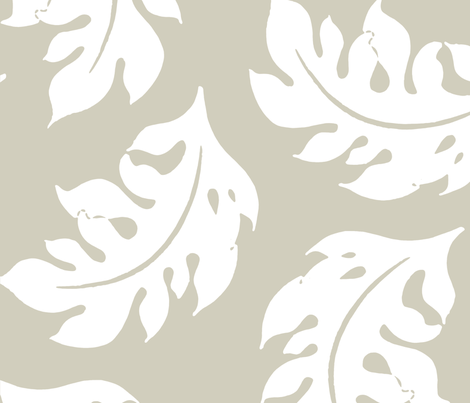 Leaves_ fabric by aimeesthill on Spoonflower - custom fabric