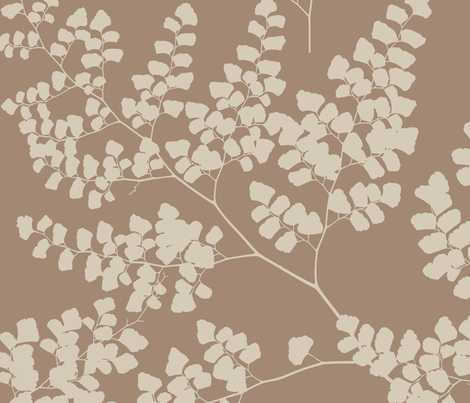 Small_Leaves fabric by aimeesthill on Spoonflower - custom fabric