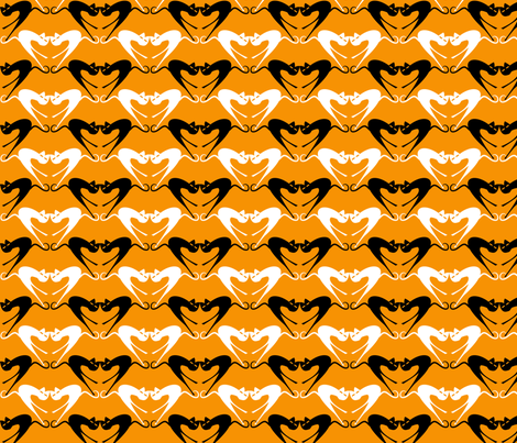 Cat_Mönsterdel_6 fabric by ecepelin on Spoonflower - custom fabric
