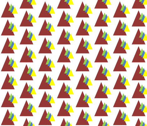 Tribal_Triangles fabric by reganraff on Spoonflower - custom fabric