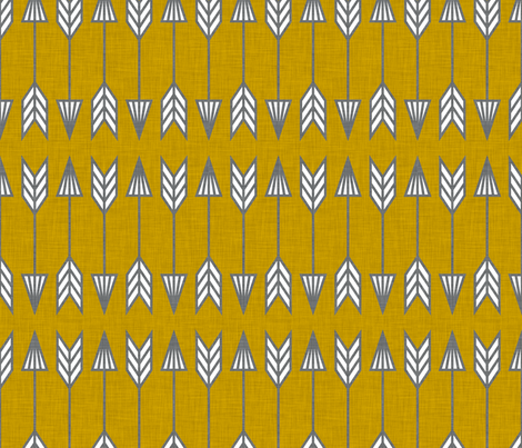arrows fabric by holli_zollinger on Spoonflower - custom fabric