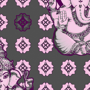 Big Bright Pink Ganesh