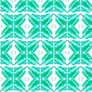 Beachy Starburst Aqua Green