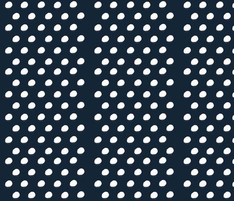 Blue Polka Dots fabric by shastafeltman on Spoonflower - custom fabric