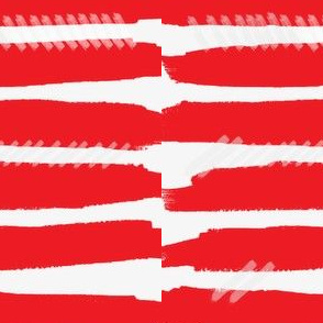Red Paint Stripes