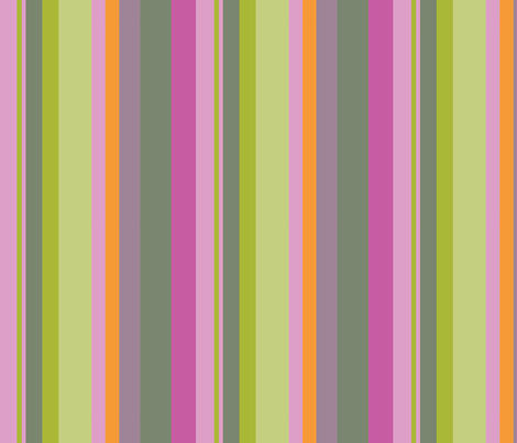 Stripe Treecology fabric by roxanne_lasky on Spoonflower - custom fabric