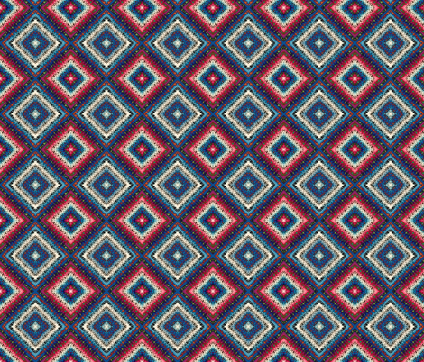 American Granny Print fabric by spontaneouscombustion on Spoonflower - custom fabric