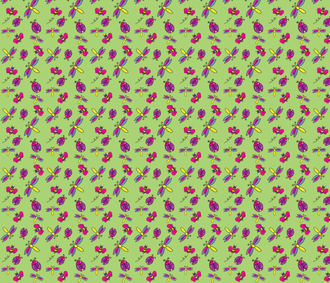Bugs fabric by lfreud on Spoonflower - custom fabric