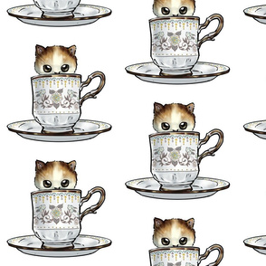 Kitten Tea Party, In the cup