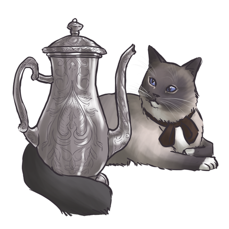 Kitten Tea Party, Tea Pot