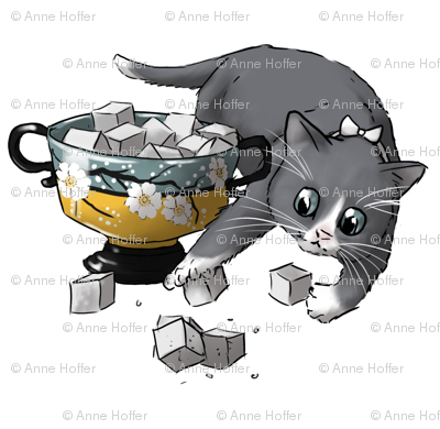 Kitten Tea Party, Sugar Cubes