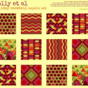 Rrrholly_et_al_holiday_napkin_coasters_sharon_turner_shop_thumb