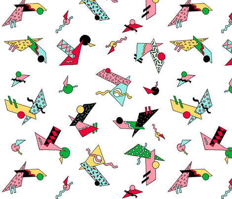 Absolutely 80s fabric by fantazya on Spoonflower - custom fabric