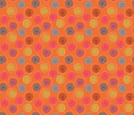 frenzy pop fabric by lilbirdfly on Spoonflower - custom fabric