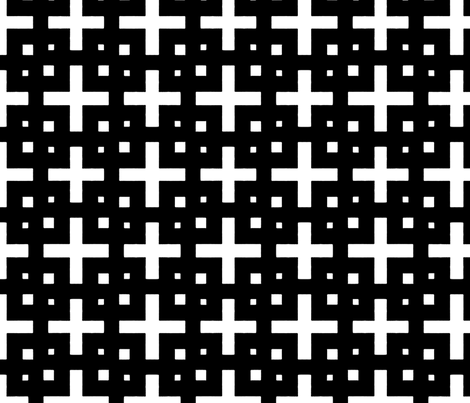 Telder Black &amp; White fabric by stoflab on Spoonflower - custom fabric
