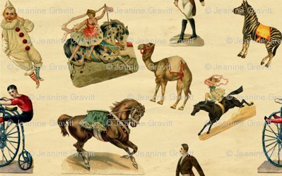 A Victorian Day at the Circus