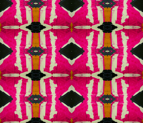 125-3 Pink Black fabric by lindsayarrington on Spoonflower - custom fabric