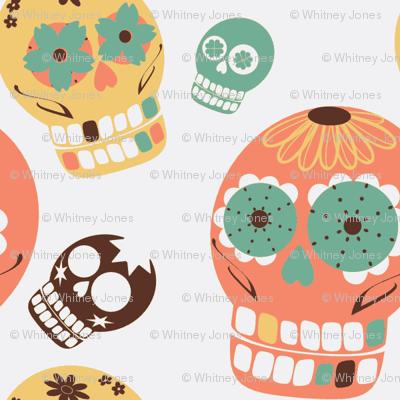 Pastel Sugar Skulls-ch
