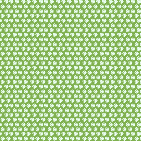 daisy dot_c1 fabric by paintedstudio on Spoonflower - custom fabric