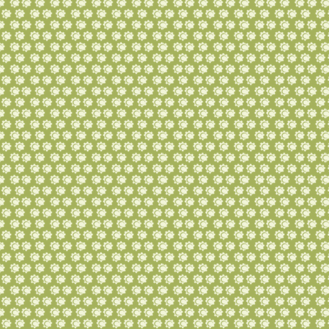 daisy dot_c2 fabric by paintedstudio on Spoonflower - custom fabric