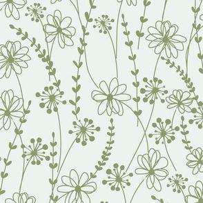 stitched flower monotone_c1