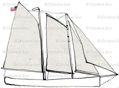 schooner adirondack