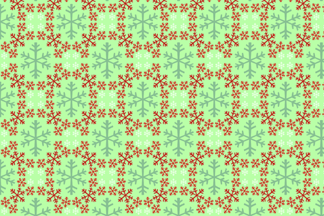snowflake_pattern_palette_revised_copy fabric by bexcaliber on Spoonflower - custom fabric