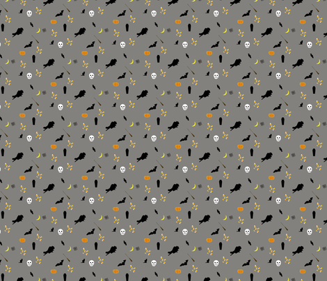 halloween-stof fabric by mandrake on Spoonflower - custom fabric