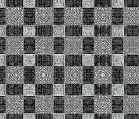 Grey Plaid fabric by wren_leyland on Spoonflower - custom fabric