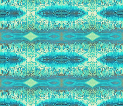 Waves of water fabric by petaisalive on Spoonflower - custom fabric