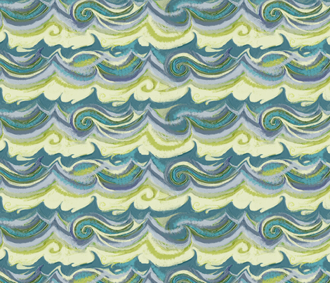 Aegean Sea Stucco fabric by wren_leyland on Spoonflower - custom fabric