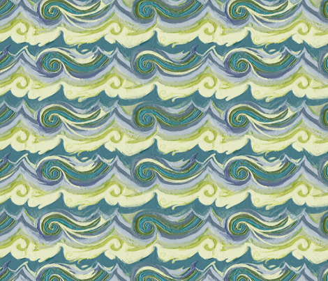 Aegean Sea Stucco fabric by wren_leyland on Spoonflower - custom fabric