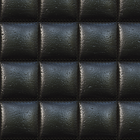 Square-quilted leather fabric by bonnie_phantasm on Spoonflower - custom fabric