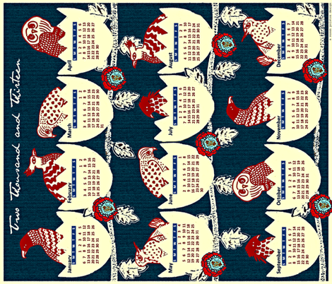 New Year, New Birth fabric by susanpolston on Spoonflower - custom fabric