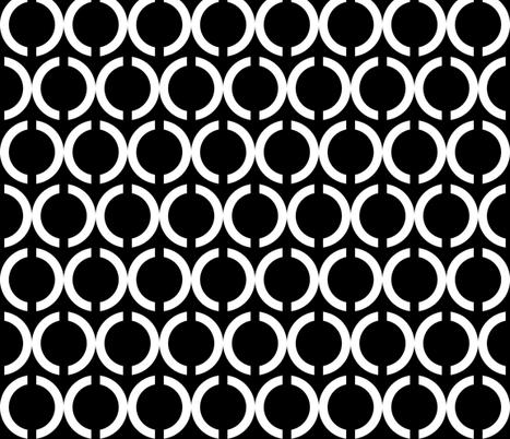 Unlinked White on Black