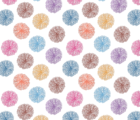 fizzy fabric by lilbirdfly on Spoonflower - custom fabric