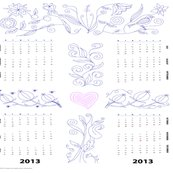 R2013_jacobean_calender_embroidery_spnflr150h_shop_thumb