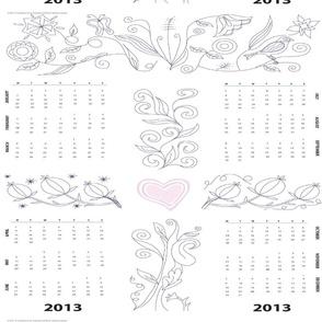 2013 Jacobean Calendar