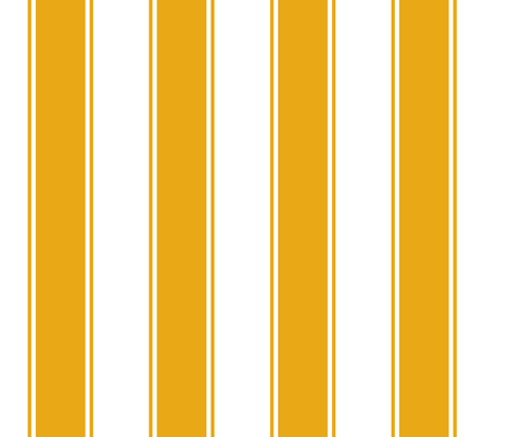 Fat Stripes in Gold fabric by fridabarlow on Spoonflower - custom fabric